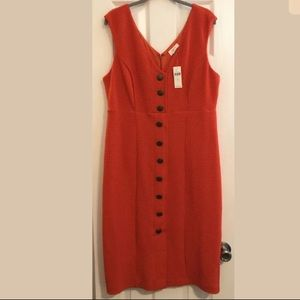 NWT Fabulous Maeve Anthropologie red dress XL